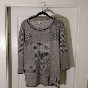 Dana Buchman Sweater SZ XL